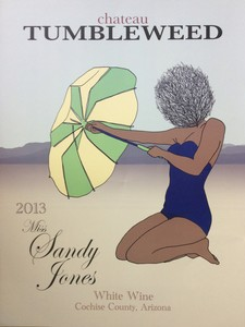 Poster Miss Sandy Jones