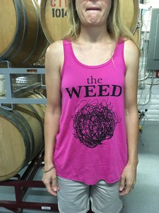 Weed Flowy Tank Berry