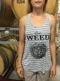 Weed Flowy Tank Striped